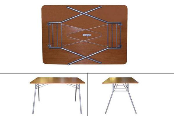 Купить стол раскладной м144-02 (лдсп/пластик) недорого в спб.